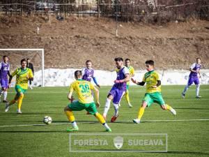 Foresta s-a impus cu 6 - 2 în amicalul cu Şomuz Fălticeni