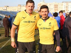 Humorenii Mihai Macovei şi Daniel Plai au fost titulari în echipa României la meciul cu Germania, de la Botoşani