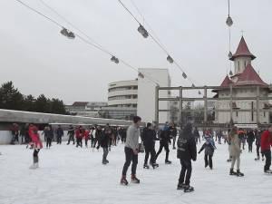 Acces liber la patinoar două zile