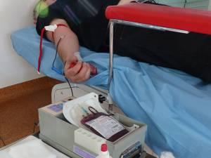 Aproximativ 8.200 de suceveni au donat sânge în 2018