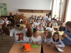 Proiectul Şcoala siguranţei Tedi, la Şcoala Gimnazială Nr. 2 Vatra Dornei