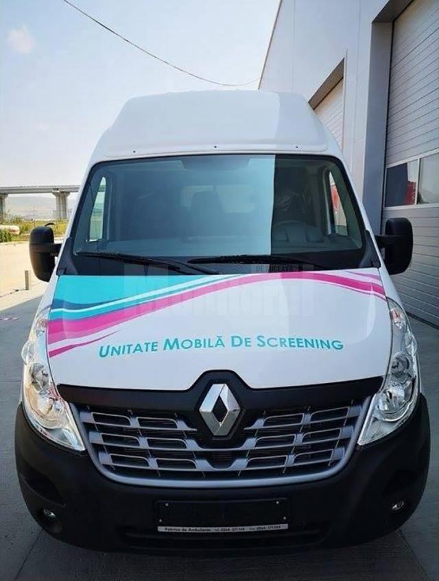 Unitatea mobilă de testare a cancerului