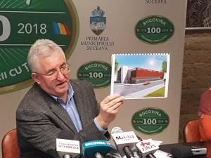 Primarul Sucevei a prezentat proiectul unei parcări supraterane, din cele 10 pentru care s-au făcut documentațiile