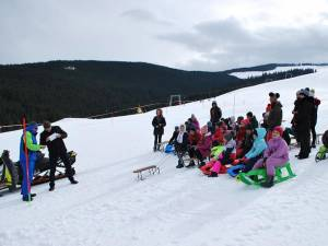 Cupa Mărţişorului la schi şi sanie