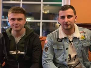 Florin Pitic și prietenul său, Costică Chifan