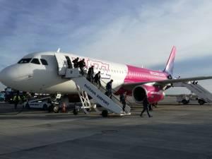 Flutur anunță că Wizz Air a introdus zboruri din Suceava către Germania, la Memmingen