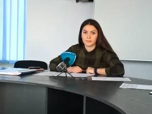 Purtătorul de cuvânt al DSP Suceava, Bianca Bighiu