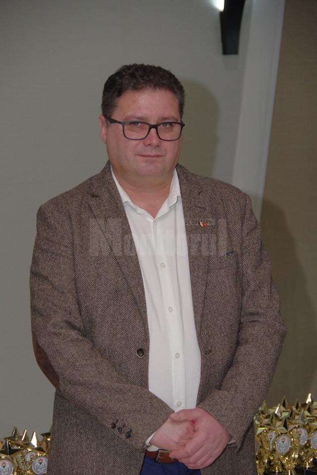 Prof. Giani Leonte, președintele Alianței Sindicatelor din Învățământ Suceava (ASIS)
