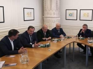 Gheorghe Flutur și primarii din Gura Humorului, Câmpulung Moldovesc si Vatra Dornei au avut mai multe discuţii pe tema turismului