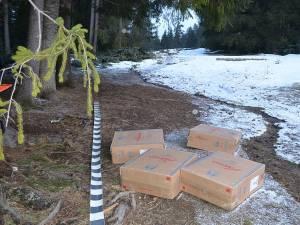 Patru focuri de armă pentru deturnarea unui transport de țigări de contrabandă la Lupcina