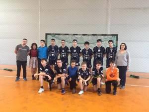 Echipa de handbal a Şcolii Gimnaziale Ion Creangă Suceava