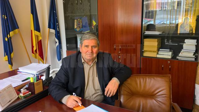 Directorul executiv al DSVSA Suceava, doctorul Dănuţ Corneanu