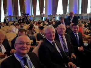 Ion Lungu, prezent la summit alături de primarul Cluj-ului, Emil Boc, primarul Iași-ului, Mihai Chirică și primarul din Vatra Dornei, Ilie Bonchiș