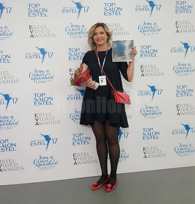 Simona Rusu la Top Salon Estel 2017