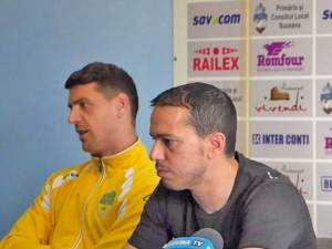 Andrei Viţelaru şi Selim Benachour sunt optimişti înaintea disputei cu CSM Focşani