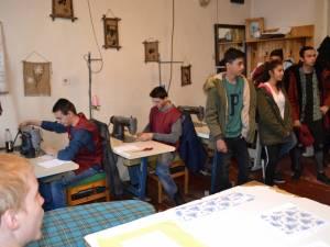 """""""Săptămâna meseriilor"""", activitate desfășurată la Centrul Școlar """"Sf. Andrei"""" din Gura Humorului"""