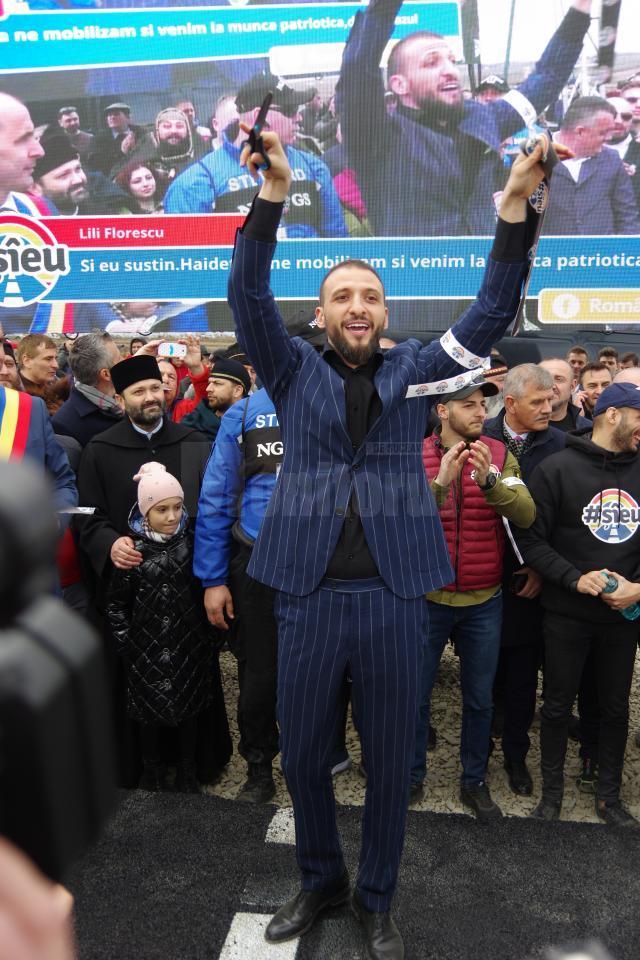 Ştefan Mandachi a creat de la Suceava cea mai mare uniune naţională pentru susţinerea construcţiei de autostrăzi