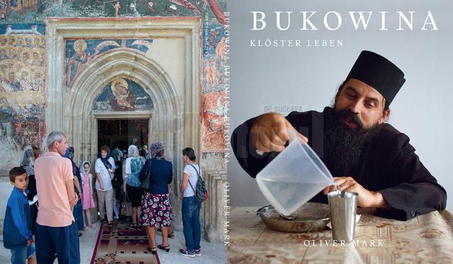 Coperta catalogului expoziției, editat de Muzeul Bucovinei, cu fotografii realizate de Mark Oliver