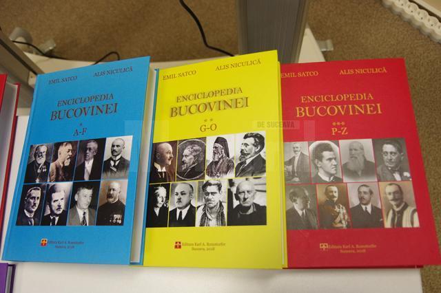 """""""Enciclopedia Bucovinei"""", """"o lucrare monumentală"""", """"o carte de vizită a tuturor bucovinenilor și a fiecăruia în parte"""", lansată la Muzeul de Istorie"""