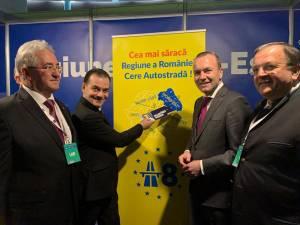Gheorghe Flutur a susţinut la Summitul PPE nevoia de autostrăzi în Moldova