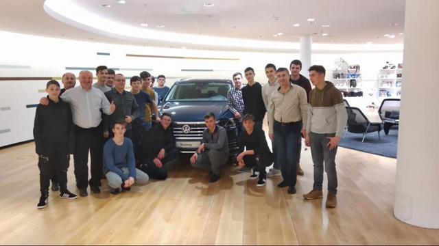Elevii din Siret au desfășurat un stagiu de practică la Dresda