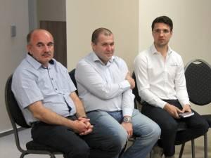 Tiberiu Avram, Florin Haidamac și Cornel Manaz