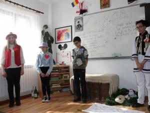 """Aşezământul de Copii ,,Sf. Ierarh Leontie"""" Rădăuţi are trupă de teatru"""