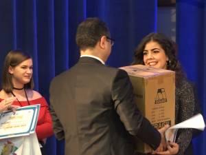 Câştigătoarea Concursului de interpretare muzicală Music Star, ediția a IX-a, Sandra Tudorache