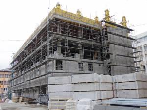 Construcţia noului ambulatoriu al Spitalului de Urgență - martie 2019