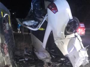"""Şoferul care s-a zdrobit cu maşina de """"Zidul morţii"""" avea o alcoolemie de peste 1 la mie"""