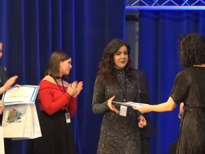 Sandra Tudurache a obținut Trofeul Music Star 2019