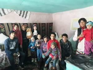 Familie nevoiașă din satul Ioneasa, comuna Vadu Moldovei, cu 11 copii