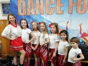 Premii pentru micile dansatoare din județ