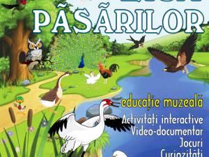 """Programul Educaţional """"Ziua păsărilor"""", la Muzeul de Ştiinţele Naturii"""