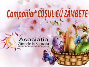 """""""Coșul cu zâmbete"""", campanie umanitară în preajma sărbătorilor de Paști"""