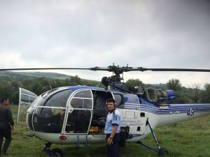 Elicopter pentru monitorizare trafic