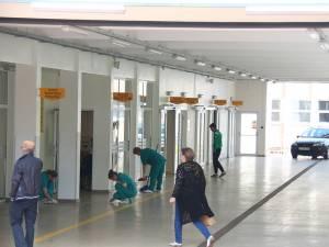Program strict de curăţenie la Spitalul de Urgenţă Suceava