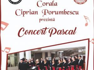 """Concert Pascal la Biserica """"Sfânta Înviere"""", susţinut de Corala """"Ciprian Porumbescu"""""""