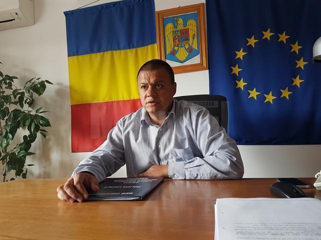 Ovidiu Doroftei, șeful Politiei Locale Suceava