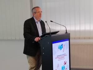 Prof. dr. Daniel Coriu, directorul Centrului de Hematologie şi Transplant Medular din Institutul Clinic Fundeni