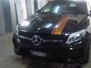 Autoturismul Mercedes căutat Germania, depistat la Siret