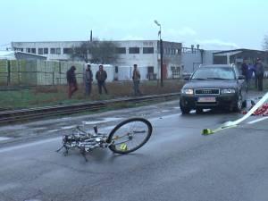 Cercetările la fața locului vor stabili cu exactitate cum s-a produs accidentul