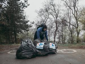 Campanie de ecologizare a zonei Zamca