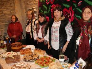 Gospodinele din Adâncata s-au întrecut în a găti mâncăruri de post