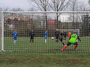 Radu Ungurianu a deschis scorul în minutul 47, din penalty. Foto Cristian Plosceac