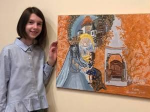 """Eleva Anastasia Hisem, în vârstă de 9 ani, premiată la Concursul Naţional """"Carmen Sylva"""", ediția a IX-a"""