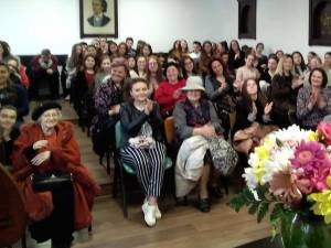 "Doina Lavric-Parghel, la Colegiul Național ""Mihai Eminescu"" Suceava"