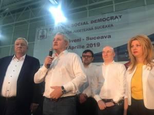 Liviu Dragnea, la mitingul de la Dumbraveni