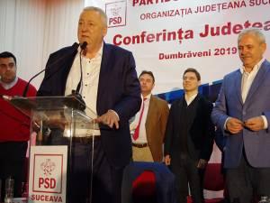 Ioan Stan a fost ales preşedinte al PSD în prezenta lui Liviu Dragnea