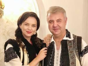 Angelica Flutur și Florin Mucea